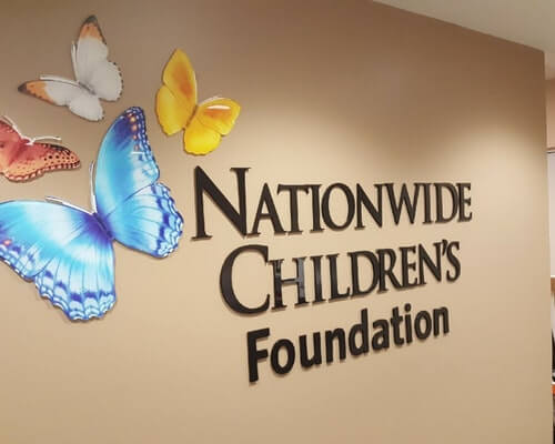 Custom Wall lettering and Logo