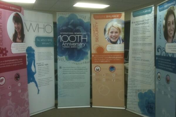Tall Retractable Ad Banners