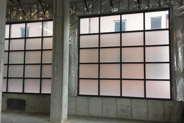 Warehouse Privacy Frosted Vinyl