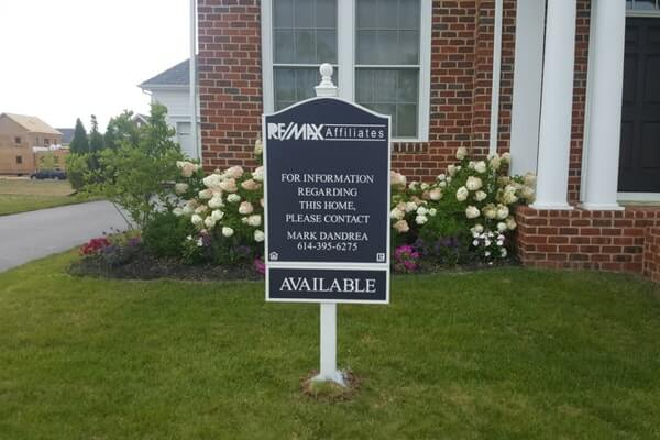Residential Real Estate Signage, Post and Panel Signs