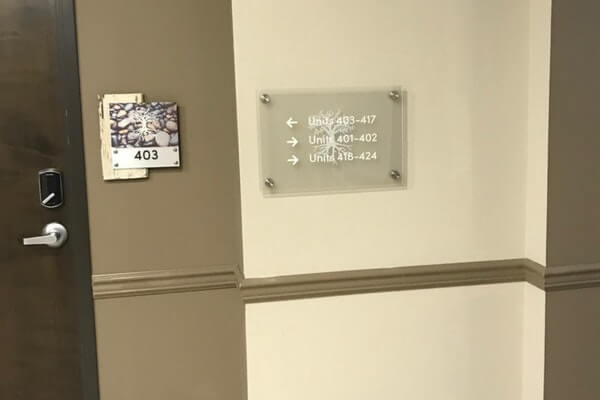 Custom Room Identifiying Signs, Barnwood, Dibond, and Plexi