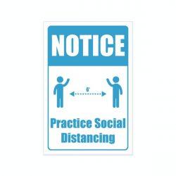 pracrice social distanceing