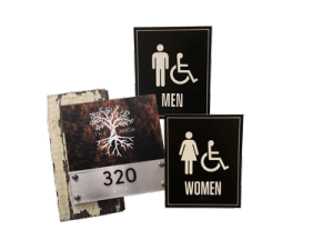 Room Plates and ADA Compliant Signs