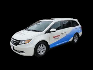 Partial Vehicle Wrap over Honda